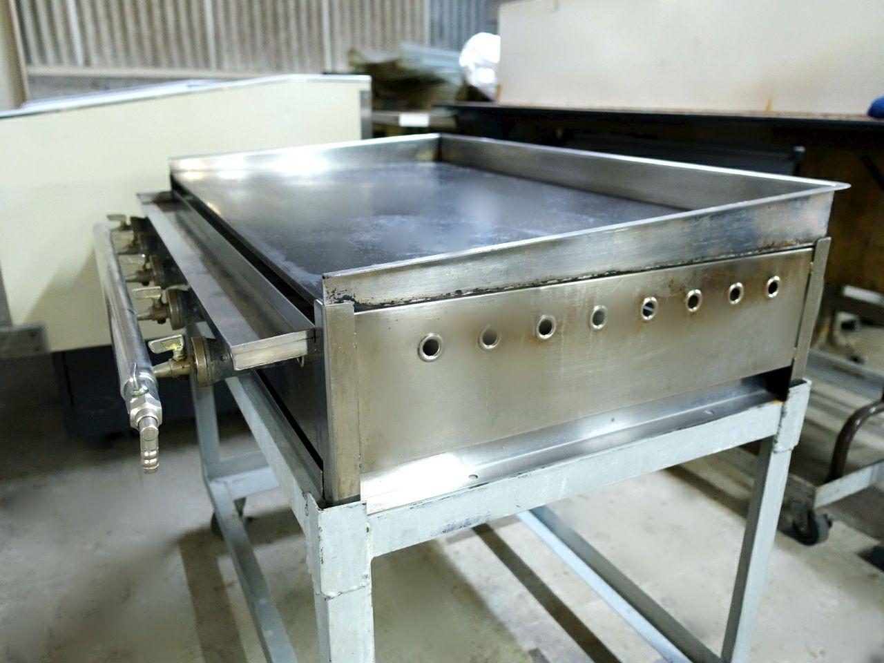 レンタル商品ガスグリドル(鉄板焼き器)のご紹介